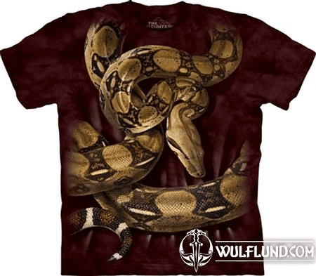 BOA CONSTRICTOR, T-SHIRT, THE MOUNTAIN