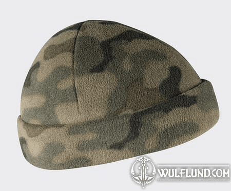 MILITARY CAP, FLEECE, WOODLAND