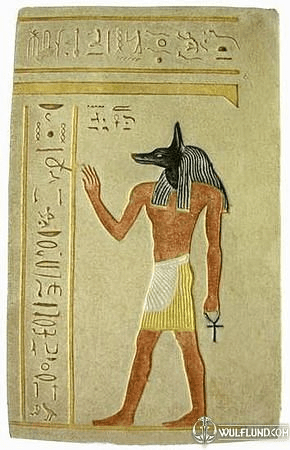 COLOURED ANUBIS