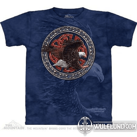 TRIBAL EAGLE, THE MOUNTAIN, T-SHIRT