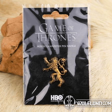 GAME OF THRONES PIN BADGE HOUSE LANNISTER PIN