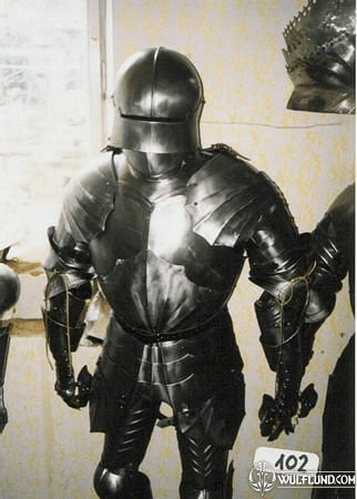 CUSTOM MADE SUIT OF ARMOUR, PLATE ARMOR, 1.5 MM
