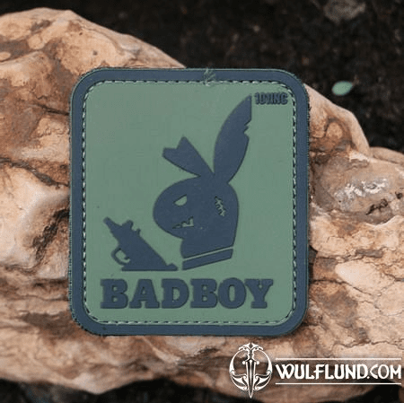 BAD BOY VELCRO RUBBER PATCH
