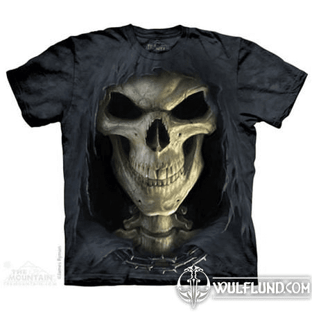 BIG FACE DEATH, THE MOUNTAIN, T-SHIRT
