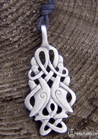 CELTIC MEDALLIONS - CELTIC BIRDS MEDALLION