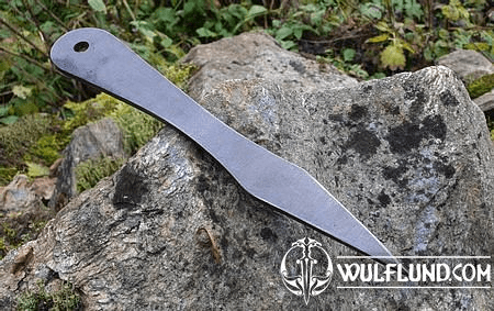 MUNINN THROWING KNIFE SANDED - 1 PIECE
