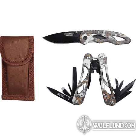 CAMO MULTI TOOL & KNIFE SET JACK PYKE OF ENGLAND