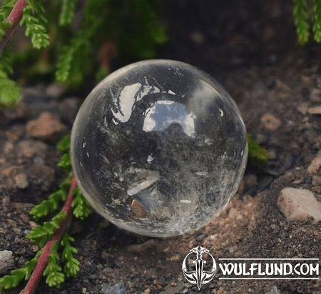 QUARTZ CRYSTAL SPHERE, SMALL