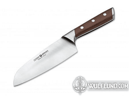 BÖKER FORGE WOOD SANTOKU KNIFE