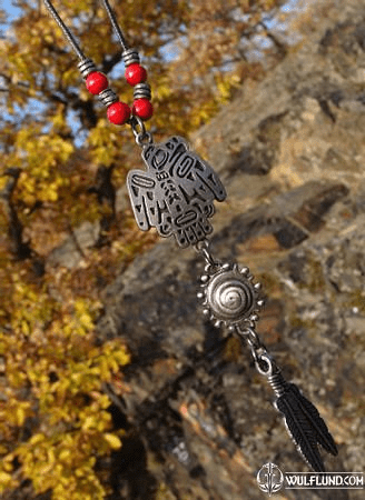EAGLE, NATIVE AMERICAN NECKLACE