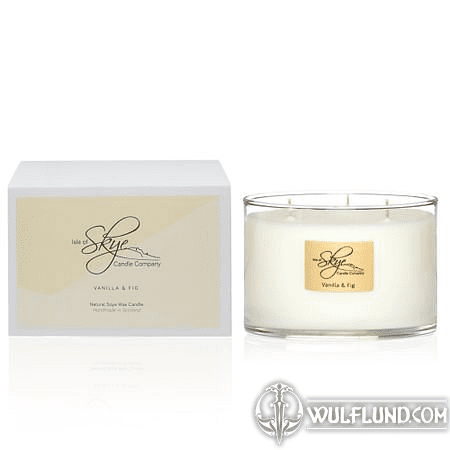 VANILLA & FIG 3 WICK CANDLE