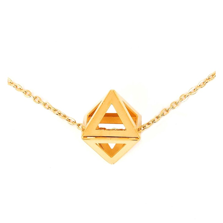 Collar Triangle Gold