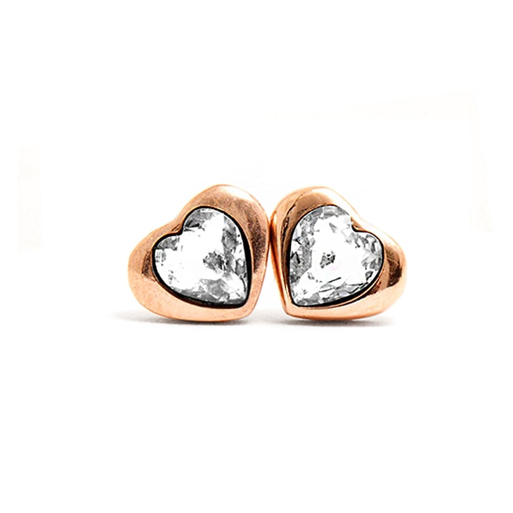 Pendientes MyHeart Rosegold