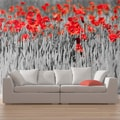 FOTO TAPETA - RED POPPIES ON BLACK AND WHITE BACKGROUND - TAPETE{% if kategorie.adresa_nazvy[0] != zbozi.kategorie.nazev %} - TAPETE{% endif %}