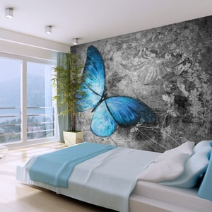Foto tapeta - Blue butterfly