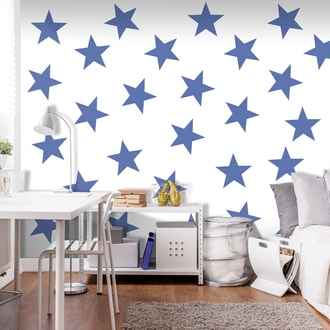 Fototapet - Blue Star