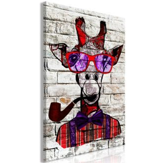 Slika - Hipster Giraffe (1 Part) Vertical