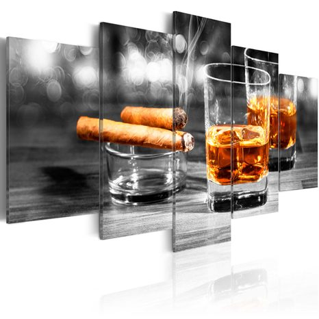 SLIKA - CIGARS AND WHISKEY