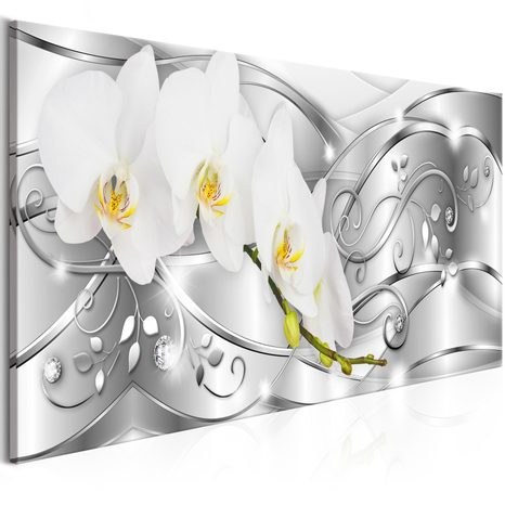 SLIKA - FLOWERING (1 PART) NARROW SILVER