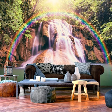 FOTOTAPET - MAGICAL WATERFALL