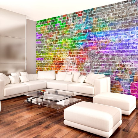 FOTOTAPET - RAINBOW WALL