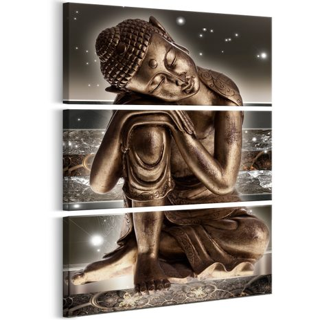 OBRAZ SPIACI BUDHA - BUDDHA AT NIGHT