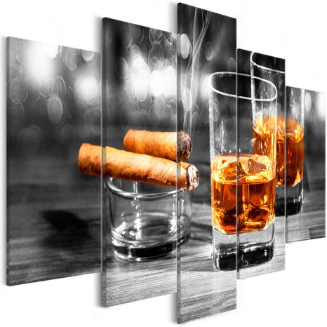 SLIKA - CIGARS AND WHISKEY (5 PARTS) WIDE