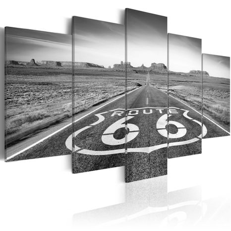 SLIKA - ROUTE 66 - BLACK AND WHITE