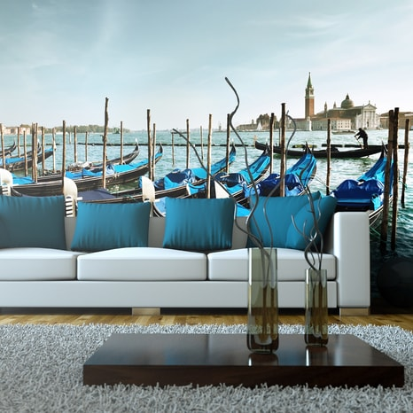 FOTO TAPETA XXL - GONDOLAS ON THE GRAND CANAL, VENICE