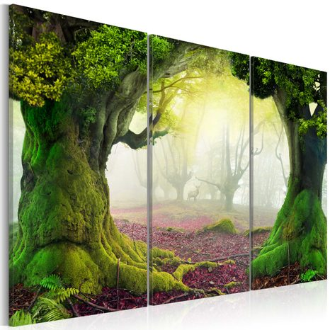 SLIKA - MYSTERIOUS FOREST - TRIPTYCH