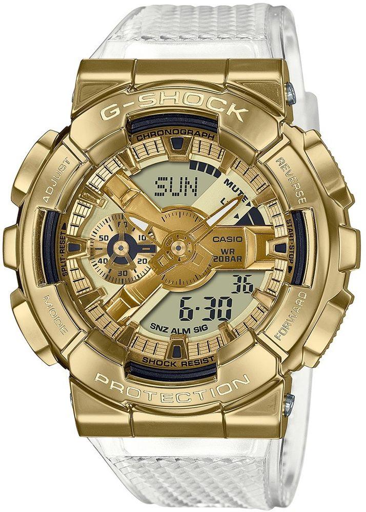 Casio G-Shock GM-110SG-9AER Skeleton Gold Series + 5 let záruka, pojištění hodinek ZDARMA