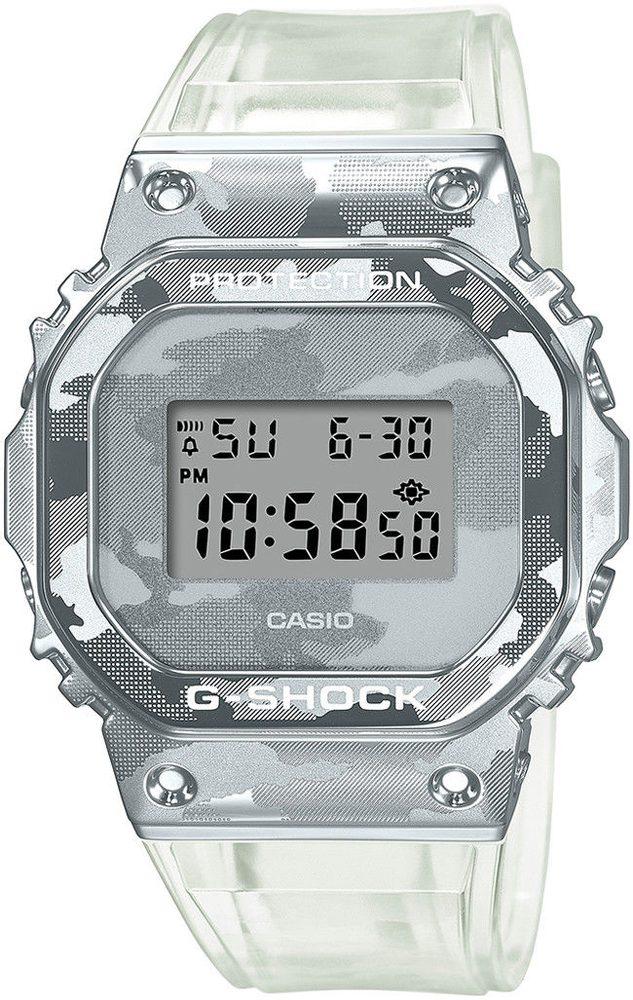 Casio G-Shock GM-5600SCM-1ER Skeleton Camouflage Series + 5 let záruka, pojištění hodinek ZDARMA