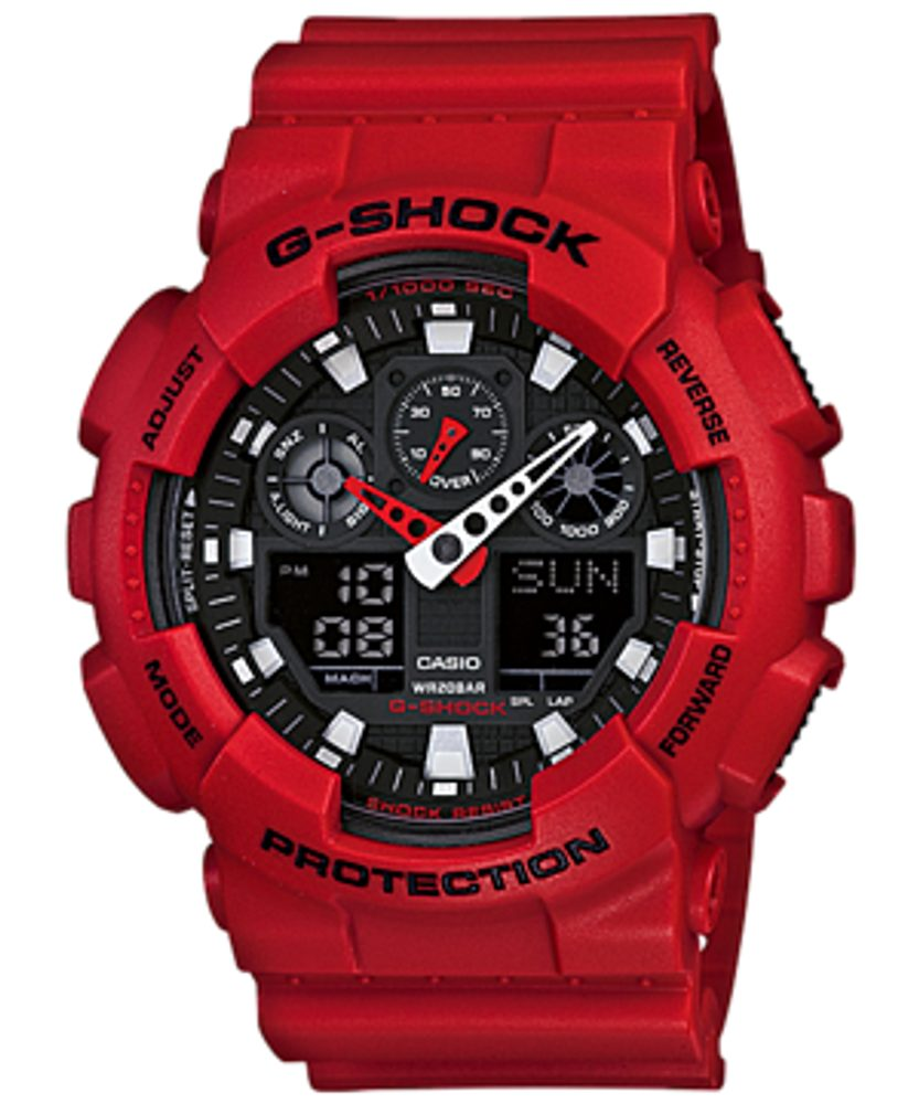 Casio GA-100B-4AER + 5 let záruka, pojištění hodinek ZDARMA