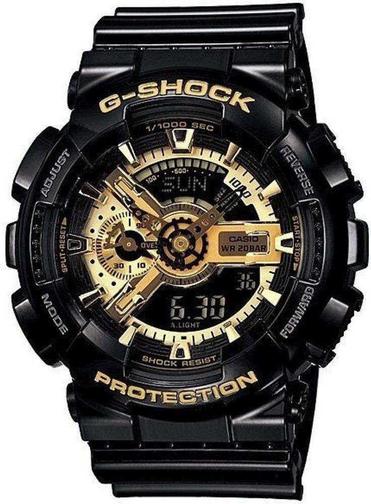 Casio GA-110GB-1AER + 5 let záruka, pojištění hodinek ZDARMA