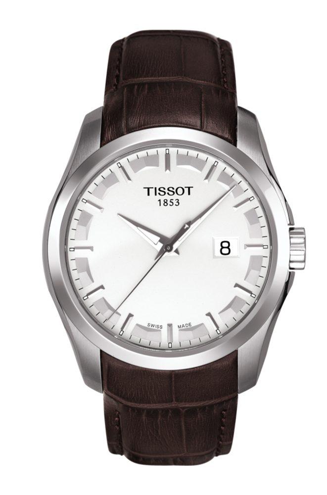 Tissot Couturier Quartz T035.410.16.031.00 + 5 let záruka, pojištění hodinek ZDARMA