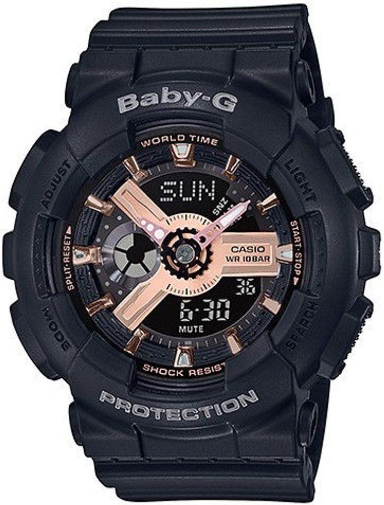 Casio Baby-G BA-110RG-1AER + 5 let záruka, pojištění hodinek ZDARMA