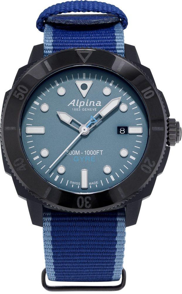 Alpina Seastrong Diver Gyre Gents Limited Edition AL-525LNB4VG6 + 5 let záruka, pojištění hodinek ZDARMA
