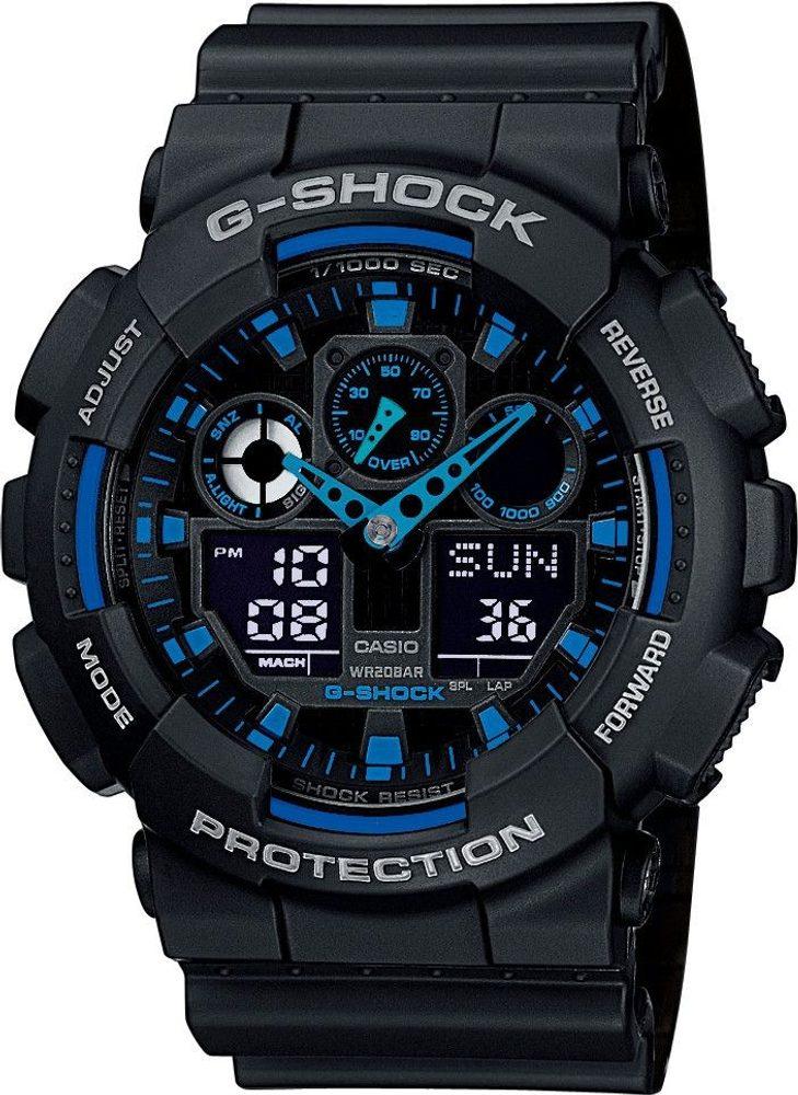Casio GA-100-1A2ER + 5 let záruka, pojištění hodinek ZDARMA