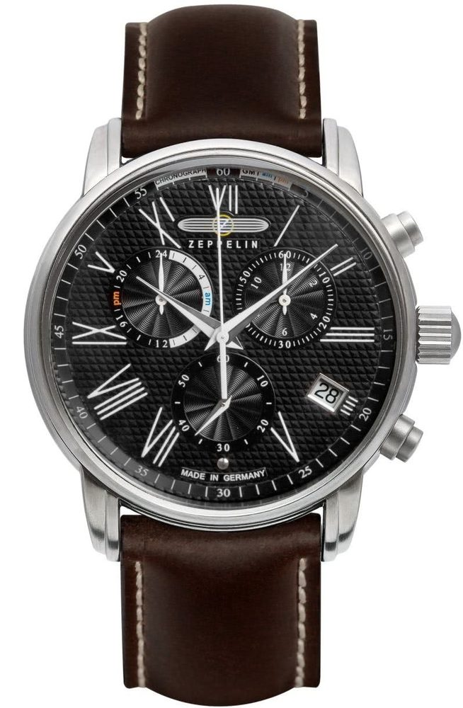 Zeppelin LZ 127 Transatlantic Quartz 7694-2 + 5 let záruka, pojištění hodinek ZDARMA