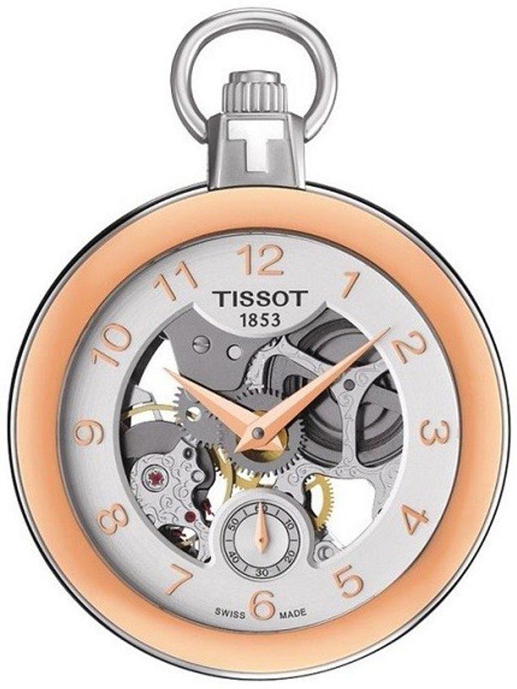 Tissot Pocket Mechanical Skeleton T853.405.29.412.01 + 5 let záruka, pojištění hodinek ZDARMA