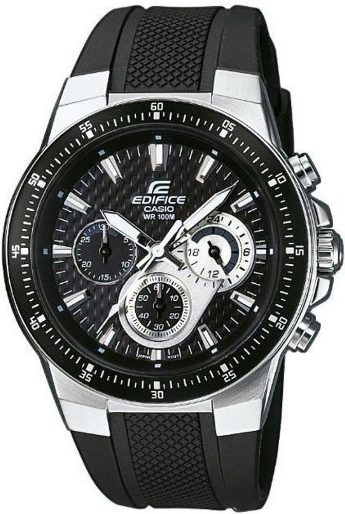 Casio EF-552-1AVEF + 5 let záruka, pojištění hodinek ZDARMA