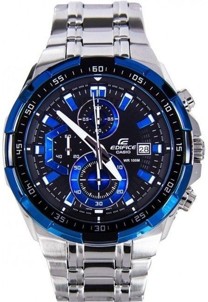 Casio EFR-539D-1A2VUEF + 5 let záruka, pojištění hodinek ZDARMA
