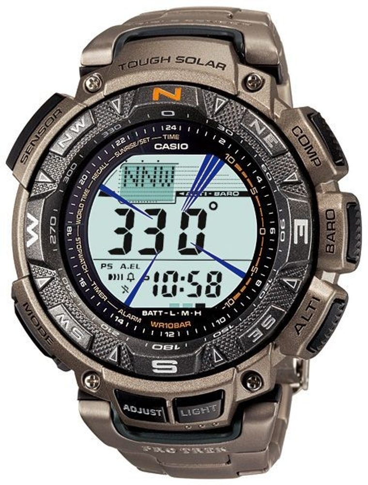 Casio PRG-240T-7ER + 5 let záruka, pojištění hodinek ZDARMA