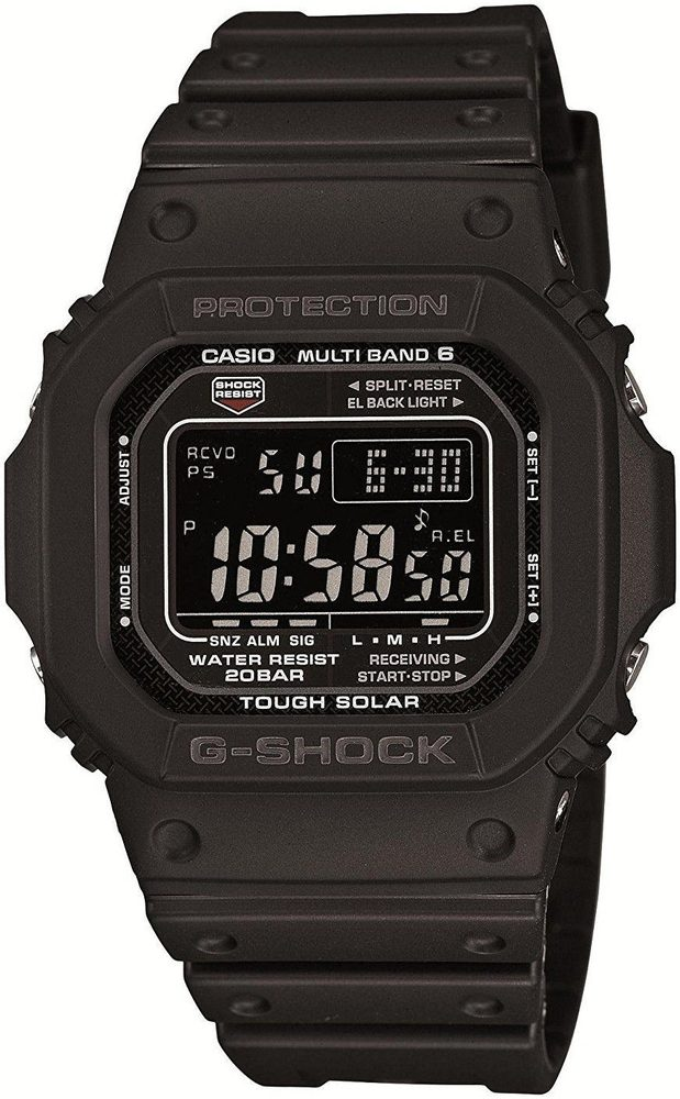 Casio GW-M5610-1BER + 5 let záruka, pojištění hodinek ZDARMA