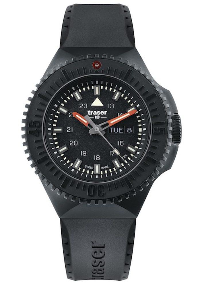 Traser P69 Black Stealth Black Pryž + 5 let záruka, pojištění hodinek ZDARMA