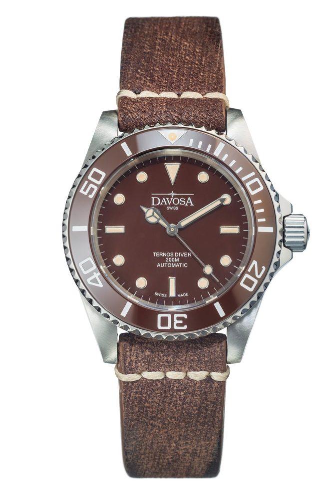 Davosa Ternos Vintage 161.555.85 + 5 let záruka, pojištění hodinek ZDARMA