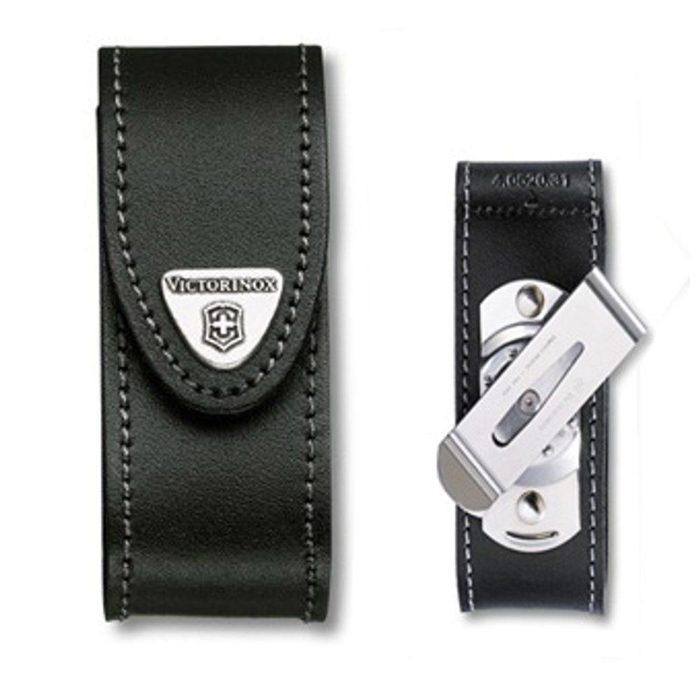 Victorinox Kožené pouzdro Victorinox s klipsem 4.0520.31 + 5 let záruka, pojištění hodinek ZDARMA