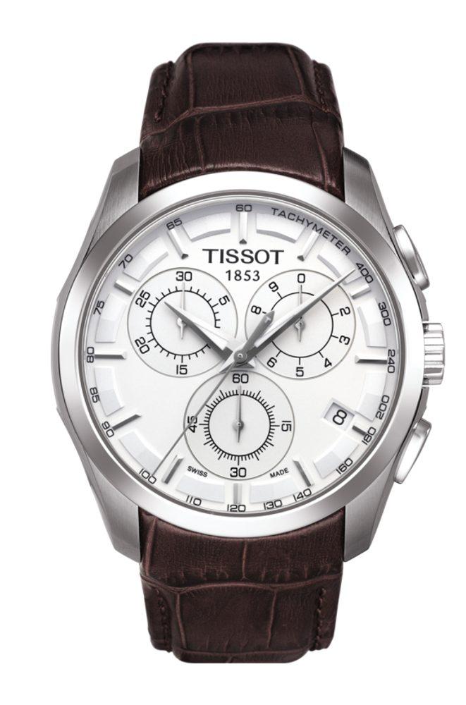 Tissot Couturier Quartz T035.617.16.031.00 + 5 let záruka, pojištění hodinek ZDARMA