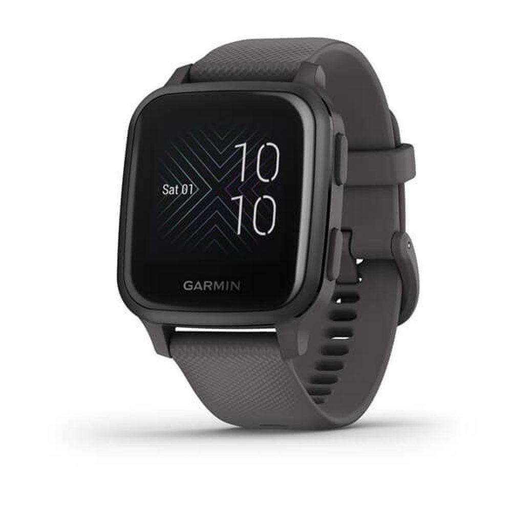 Garmin Venu Sq, Slate/Gray Band 010-02427-10 + 5 let záruka, pojištění hodinek ZDARMA