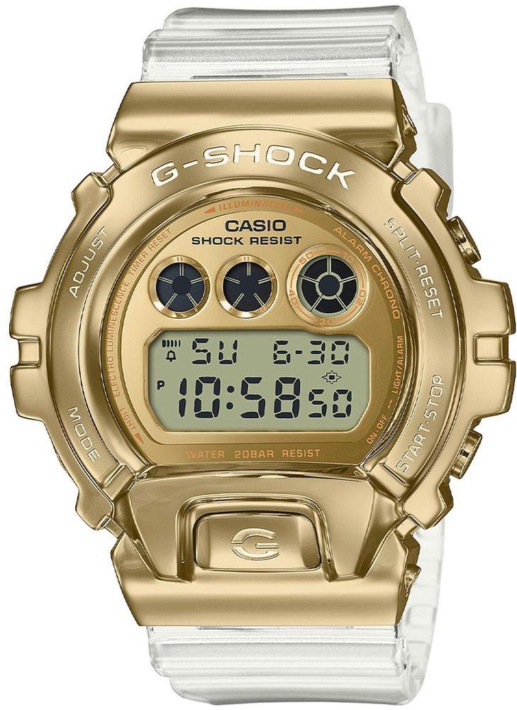 Casio G-Shock GM-6900SG-9ER Skeleton Gold Series + 5 let záruka, pojištění hodinek ZDARMA